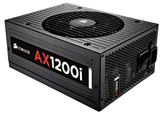 Corsair CP-9020008-UK Professional Series Digital AX1200i ATX/EPS Fully Modular 80 PLUS Platinum Power Supply Unit, 1200 W (B008QB8URK) | Amazon price tracker / tracking, Amazon price history charts, Amazon price watches, Amazon price drop alerts