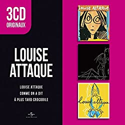 3 CD Originaux : Louise Attaque/comme on a Dit/a Plus Tard Crocodile