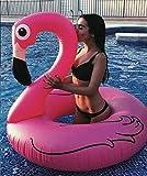 Hinchable Colchoneta Flamenco, Seguro y Estable Juguete Hinchable Flotante Gigante Flamingo, Extremadamente Grueso y Duradero Flamenco Hinchable para Regalo Reunión Parte Celebración de Cumpleaños