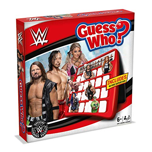 WWE Guess Who Board Game