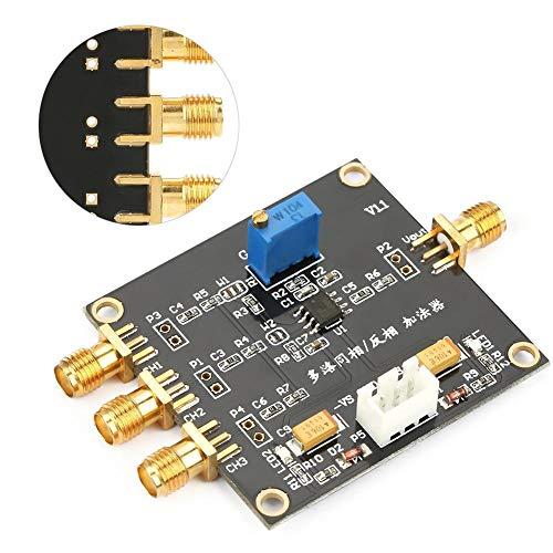 Zouminyy Amplificador en fase/antifásico Ganancia de sumador de tres entradas Amplificador ajustable Unidad de superposición de ruido