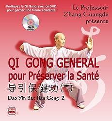 Qi Gong Général pour préserver la Santé de Zhang Guangde chez Badema Editions dans la collection Dao Yin Qi Gong