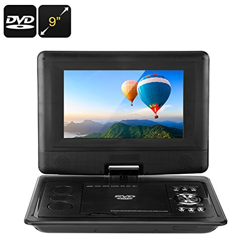 Why Should You Buy 9-Inch Portable DVD Player - Universal Disc Support, FM Radio, Analog TV, E-Book ...
