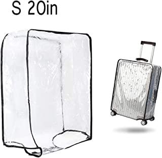"1PCS Luggage Cover Suitcase Cover Transparent Protectors Case for 20""24""28""30""(S)"