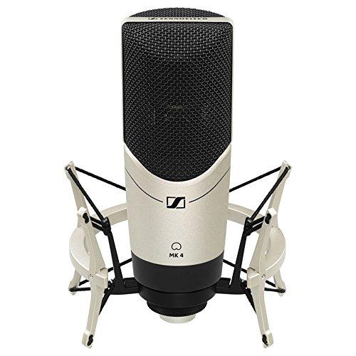 Sennheiser MK 4 Set - MK4 Studio Condenser Microphone with MKS4 Shockmount