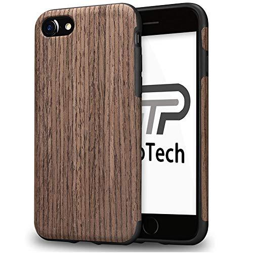 【TaoTech】 iPhone5 iPhone5s iPhoneSE 4.0インチ 対応 高級 天然木製 薄型 木目 木製 木調 シリコン iPho...