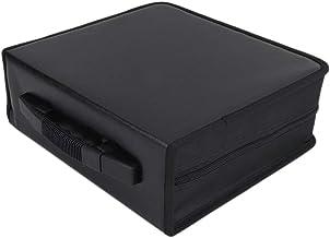 Dailydanny 400 Disc CD/DVD Wallet Binder Book Sleeves Disc Storage Bag Carrying Case