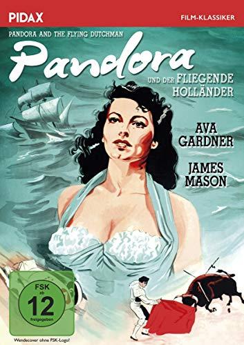 Pandora und der fliegende Holländer (Pandora and the Flying Dutchman) / Sagenhafte Fantasy um den Fliegenden Holländer mit Ava Gardner und James Mason (Pidax Film-Klassiker)