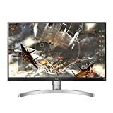 LG 27UL650 Monitor 27' Ultra HD 4K LED IPS HDR 400, 3840 x 2160, Radeon FreeSync 60 Hz, 1x Display Port, 2x HDMI, Uscita Audio, Multitasking, Altezza Regolabile