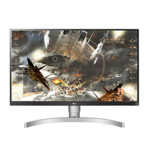 LG 27UL650-W 27 Inch 4K UHD LED Monitor with VESA DisplayHDR 400,...