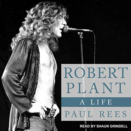 Robert Plant audiobook cover art