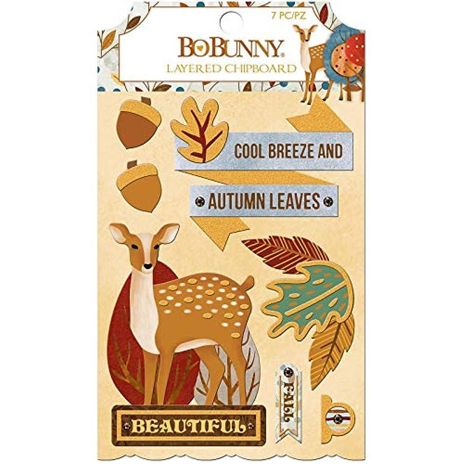Bo Bunny 7310329 Chipboard Embellishment, Multicolor