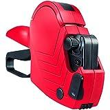 Originale METO Arrow S, Prezzatrice 9505490 (1-linea di stampa, 8-caratteri per etichette 22 x 12 mm, pronta all'uso) 1 prezzatrice manuale, rosso-nera
