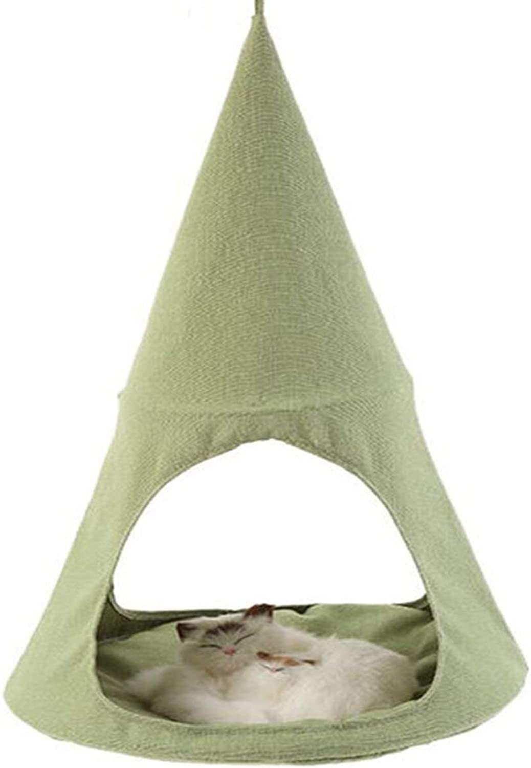 IW.HLMF Cat Hammock Bed Tent Comfortable Hanging Perch Pet Hammock Bed Cradle for Cats Small Dogs Rabbits other