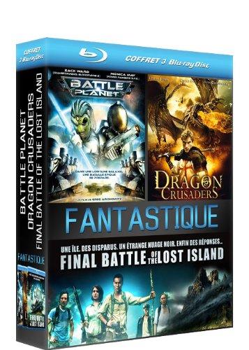 Coffret Fantastique : Battle Planet + Dragon Crusaders + Final Battle of the Lost Island [Francia]...