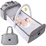 3 in 1 Convertible Diaper Bag with Changing...