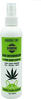 Uncle Bud's All Natural Hemp Dog Deodorizer PARABEN Free, SULFATE Free, GMO Free