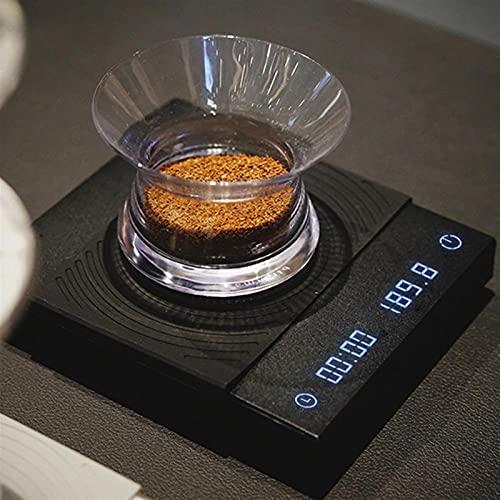 JSJJAUJ Corporal Báscula Timemore Basic Electronic Scale Verter sobre la Escala de café de café Espresso Escala Inteligente Escalas automáticas de la Cocina de la Hora 2G (Color : B)