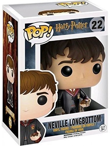 Funko POP! Harry Potter: Neville Longbottom con el uniforme de Hogwarts