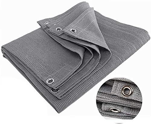 90% Shade tarpaulin Sun Shade with Eyelets for Outdoor Pergola Sun Cover Cover, Gray,1m*1m