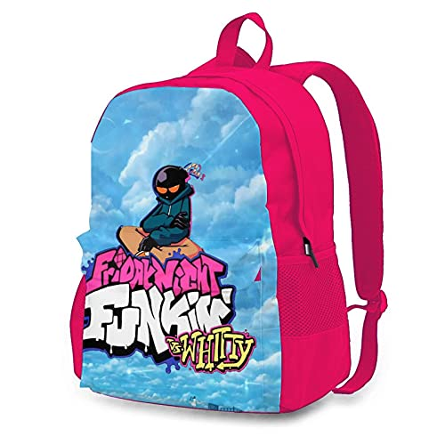 Friday Night Funkin Laptop Backpack Durable College Daypack School Bag For Student Adult