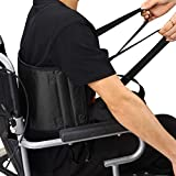 HUANGYUAN Patient Lift Sling Transfer Belt, Padded Lift Belt with Handles Helps with Transfers from Car, Wheelchair, Bed-Soft Moving Assist Hoist Gait Belt, No-Slip Transfer Sling