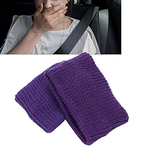 Muñequera para las náuseas, muñequera para aliviar las náuseas Conveniente Sin efectos secundarios Se utiliza repetidamente Reduce las náuseas para viajar(purple)