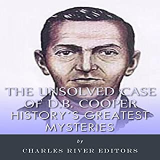 History's Greatest Mysteries: The Unsolved Case of D.B. Cooper audiobook cover art