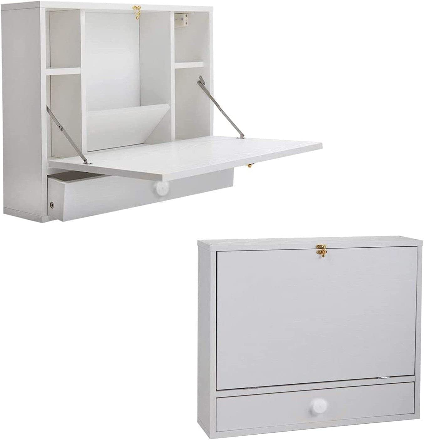 Wall Complete Free Popular overseas Shipping Mounted Desk Multifunctional Wal Space Floating Saving
