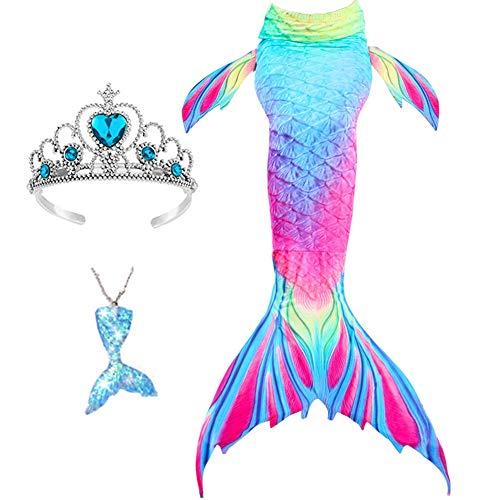 cola de sirena rosa de la marca Lovely Mermaid
