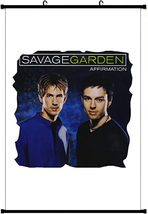 YABING Band Movie Music & Bowersj Savage Garden Affirmation Classic Anime Living Room Bedroom Home Decoration Gift Fabric Wall Scroll Poster (16x24) Inches