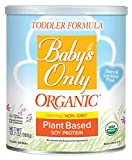 Baby's Only Soy Protein Toddler Formula - Non GMO, USDA Organic, Clean...