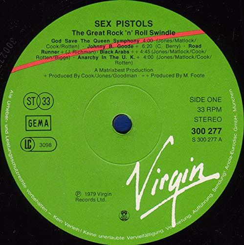 Sex Pistols - The Great Rock 'N' Roll Swindle - Virgin - 300 279-406, Virgin - 300 277, Virgin - 300 278 - 2