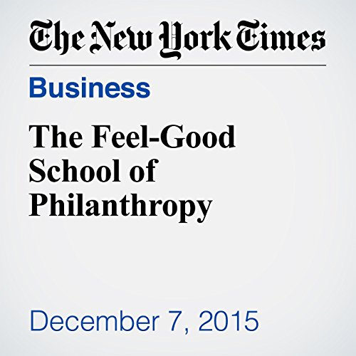 The Feel-Good School of Philanthropy cover art