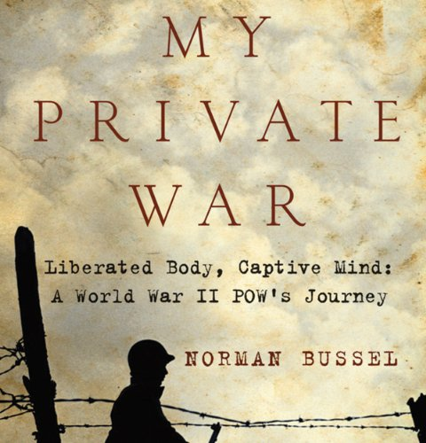 My Private War audiobook cover art