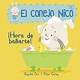 ¡Hora de bañarse! (El conejo Nico. Pequeñas manitas): Libros En...