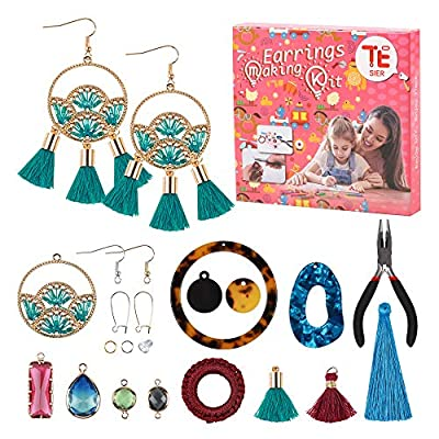 Earrings Making Kit  Comes with a Wide