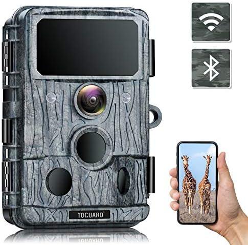 TOGUARD 4K WiFi Trail Camera 30MP Bluetooth Hunting Camera with 940nm No Glow IR LEDs Night product image