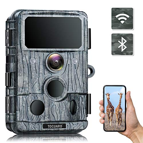 TOGUARD 4K Native WiFi Trail Camera - 30MP Game Camera with 940nm No-Glow IR LEDs Night Vision 0.2s Motion Activated Hunting Camera Waterproof IP66 for Wildlife Monitoring Discovery
