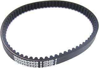 Drive belt compatible with American Sportworks Black Fox, Conquest, Fox 2x5, Fox LXT, Havoc, Red Fox LXT, Silver Fox, Vortex, Manco 285 and 286 Dingo, 485, 486, 606 Model Go Karts