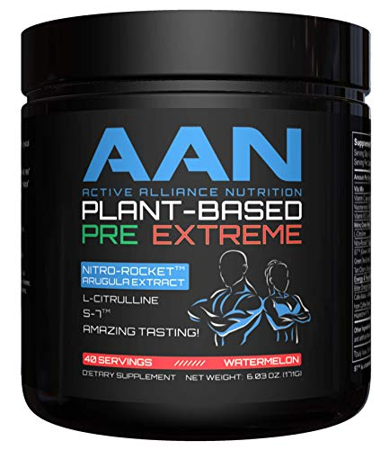 AAN Plant-Based Pre-Workout Extreme