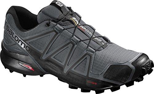 Salomon Speedcross 4 Trail Running Shoe for MenDark Cloud