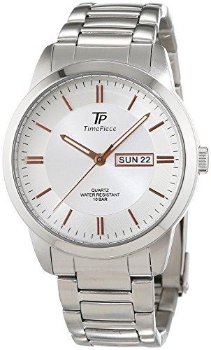 Time Piece TPGS-30306-41M - Orologio da polso, sportivo, al quarzo, analogico, in acciaio inossidabile, da uomo