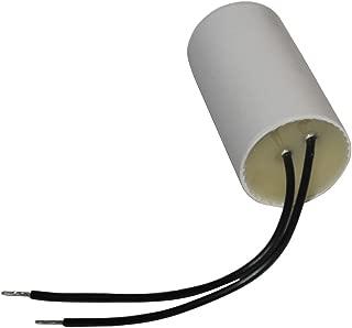 Condensatore permanente di lavoro per motore 2/µF 475V polipropilene con terminali 6,3mm C10404 Aerzetix