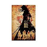 Kill Bill 1 klassisches Filmposter, dekoratives Gemälde,