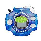 VacFun 3 Piezas HD Claro Protector de Pantalla para BANDAI Digimon Adventure Digivice Ver.15th, Screen Protector Sin Burbujas Película Protectora (Not Cristal Templado)