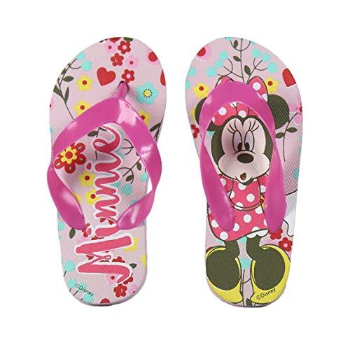 Minnie Mouse Unisex Kinder S0708386 Pool Flip Flops 72368, Pink, Rosa, 33 EU