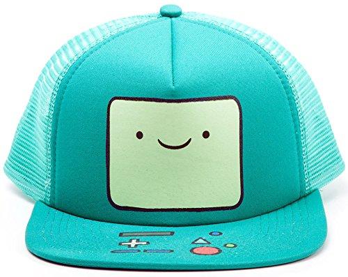 Adventure Time Cap Beemo Snapback Trucker Cap Mütze Schirmmütze