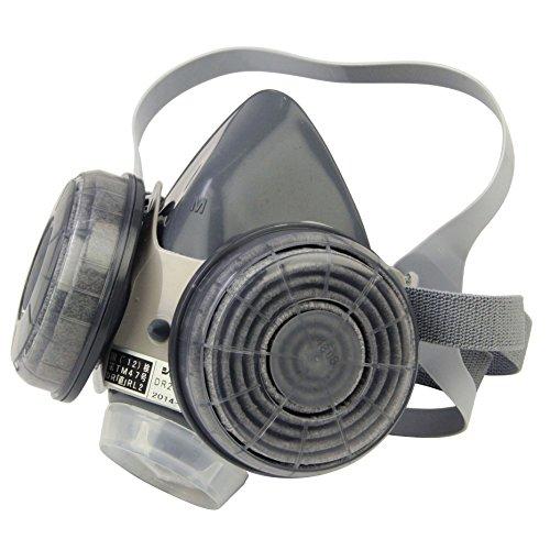 SK11 防塵マスク ダブルフィルター 防臭機能付 微細粉じん用 国家検定合格品 区分RL-2 M-220S