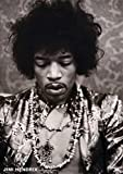Jimi Hendrix Poster Portrait Hollywood 1967